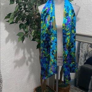 Cynthia Rowley Multicolored Silk Scarf
